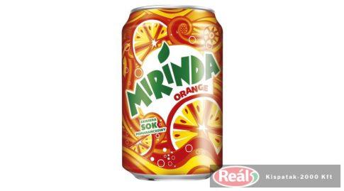 Mirinda narancs ízű szénsavas üdítőital 0,33l dobozos