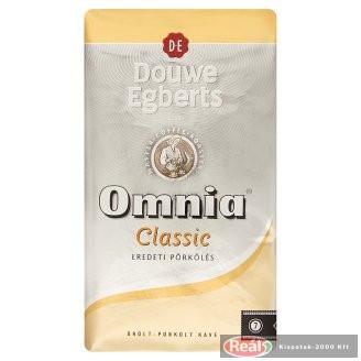 Douwe Egberts Omnia kávé 250g őrölt