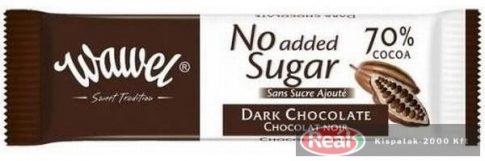 Wawel diabetikus étcsokoládé 70% 30g