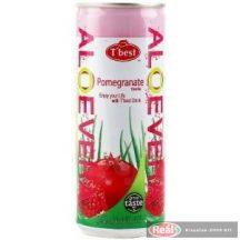 Aloe Vera gyümölcsital 240ml gránátalma rostos dobozos