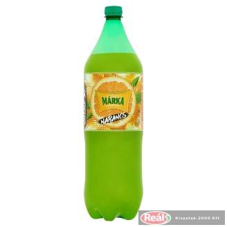 Márka szénsavas üdítő 2l narancs ízű PET