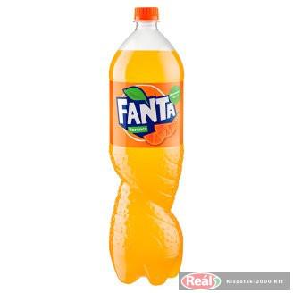 Fanta szénsavas üdítő 1,75l narancs ízű PET