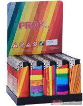 Öngyújtó elektromos-gáz rainbow mintás