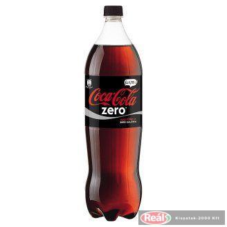 Coca Cola szénsavas üdítő 1,75l Zero PET