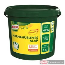 Knorr Marhahúsleves Alap Sószegény 3kg
