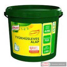 Knorr sószegény tyúkhúsleves alap 3kg