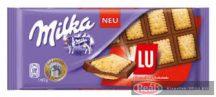 Milka táblás csokoládé 87g SW LU édeskekszes