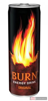 Burn energiaital 0,25l dobozos