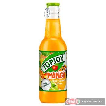Topjoy ovocný nápoj s príchuťou mango-250ml, sklo