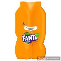 Fanta szénsavas üdítő 2*1,75l narancs ízű PET