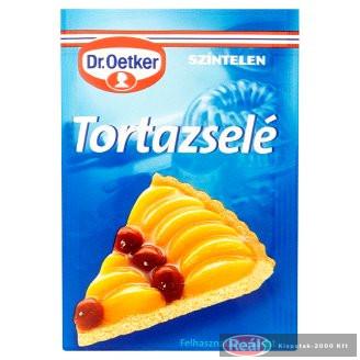 Dr.Oetker tortazselé 12g színtelen