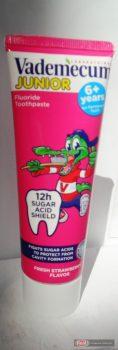 Vademecum gyerek fogkrém 6+       75ml Epres