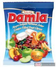 Damla karamella 90g gyümölcs ízű