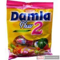 Damla karamella 90g görögdinnye-trópusi gyümölcs ízű