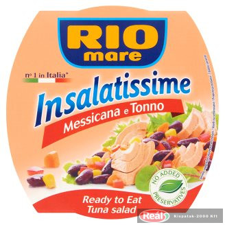Riomare Insalatissime mexikói tonhalsaláta 160g
