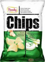 Foody chips 40g hagymás-tejfölös