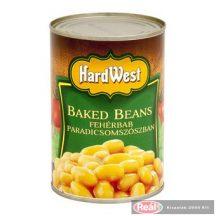 Hard west biela fazuľa v paradjkovej omáčke 400g