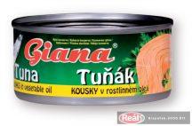 Giana tonhaldarabok olajban 185g/130gTT