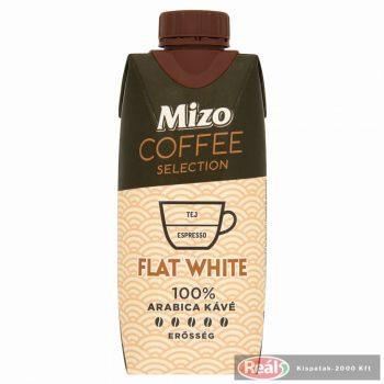 Mizo Coffee Sel.FlatWhite UHT félzsíros kávés tej 330ml