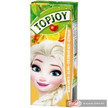 Topjoy narancs-alma-őszibarack-citrom gyümölcslé 0,2L dobozos