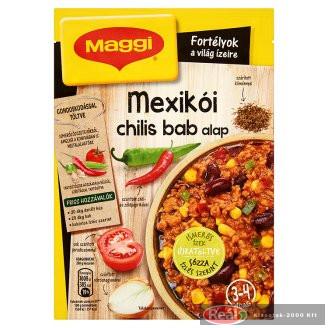 Maggi alap 45g mexikói chilis bab