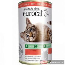 Eurocat macska konzerv 415g marha