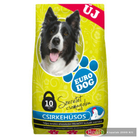 Euro Dog száraz kutyaeledel 10kg csirke