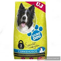 Euro Dog száraz kutyaeledel 3kg csirke