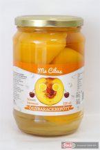 Foodex őszibarack befőtt hámozott felezett 340g 720ml
