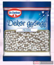 Dr.Oetker dekor gyöngy 30g fehér színű