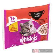 Whiskas tasakos macskaeledel 4x85g klasszikus krémes