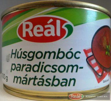 Reál készétel 400g húsgombóc paradicsomos mártásban