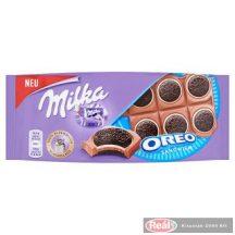 Milka táblás csokoládé 92g Sandwich oreo