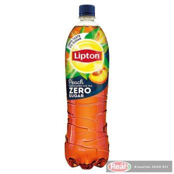 Lipton Icetea 1,5l zero barack ízű PET