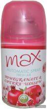 Max aeroszolos légfrissítő utántöltő 260ml gránátalma-cseresznye