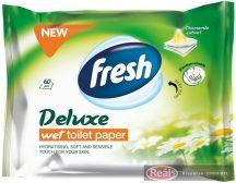 Fresh Deluxe nedves toalettpapír 60db