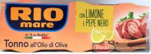 Riomare tonhal citromos olivás olajban 3*80/156g