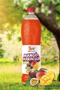Pölöskei szörp 1l mangó-maracuja PET