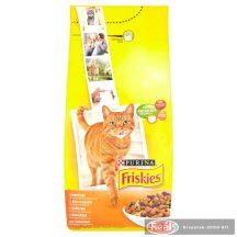 Friskies macska száraz eledel 1kg csirke - zöldség
