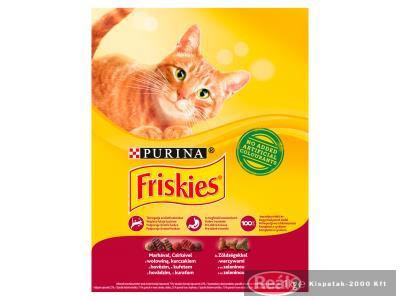 Friskies száraz macskaeledel 1kg marha-csirke-zöldség