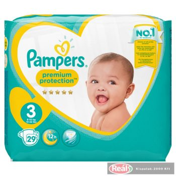 Pampers Carrypack pelenka 26db midi 3