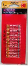 Kodak EHD mikro elem AAA 10db/csomag