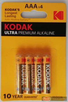 Kodak ultra micro elem 4db AAA
