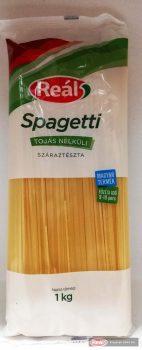 Reál tojás nélküli tészta 1kg spagetti
