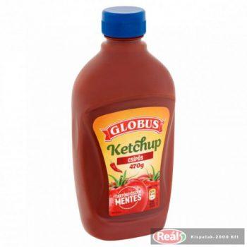 Globus ketchup 470g csípős