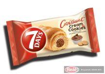 7days croissant 60g cream&cookies keksz-mogyorós töltelék