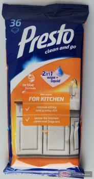 Presto Clean takarító kendő 36db konyhai