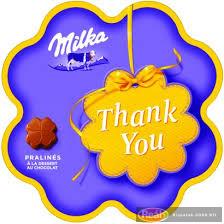 Milka thank you desszert 44g
