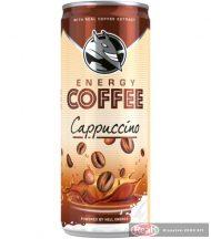 Hell Energy Coffee Cappuccino 250ml kávés tejital
