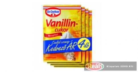 Dr.Oetker vanilincukor 4*8g